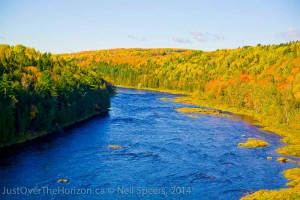 Fall along the river, Aroostock River, New Brunswick
